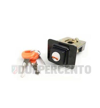 Serratura sella per Vespa PX125-200/ PE/ Lusso/ '98/ MY/ T5