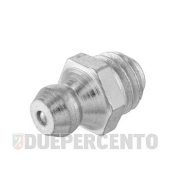 Ingrassatore M8 x 1.25 mm snodo molla per Vespa 125 GTR 2°/TS 2°/150 Sprint V 2°/Super 2°/200 Rally 2°/P150S