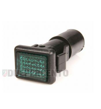 Spia luce verde manubrio per Vespa P125-150X/ PX125-200E/ Lusso 1°/ P150S/ P200E