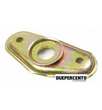 Piastra di fissaggio ammortizzatore anteriore,disopra, per Vespa PX125-200/ P200E/ T5/ MY