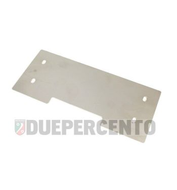 Piastra di rinforzo cavalletto centrale / laterale, TD-Customs, per Vespa PX/ PE/ `98/ MY/ `11/ T5/ Rally/ TS/ GT/ GTR/ SS180/ GS160