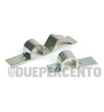 Staffe fissaggio PIAGGIO, cavalletto centrale ø22 Vespa PX/ PE200/ ARCOBALENO
