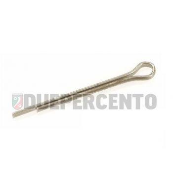 Coppiglia perno Perno 5,5x21,5 mm morsetto freno, per Vespa 50/ 50 Special/ ET3/ PV/ PK/ V1-33/ VM/ VN/ VL/ VB/ GS/ VNA/ TS/ GT/ GTR/ Sprint/ Rally/ SS180/ PX125-200/ PE