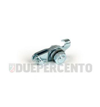 Morsetto completo cavo freno posteriore Vespa 50/ PV/ ET3/ PK50-125/ PX125-200/ T5/ Rally/ TS/ GTR/ GS160 /SS180