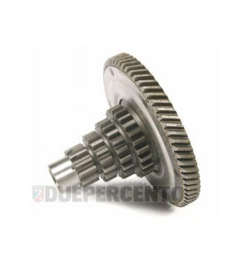 Ingranaggio multiplo 12-16-20-25 denti, con pignone primaria 67 denti per Vespa 125 GT/ GTR/ TS/ 150 GL/ 150 Sprint / V/ P125-150X 1°