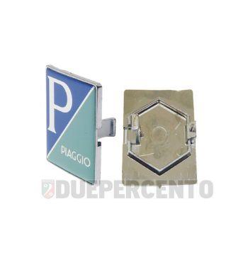"""Stemma quadro """"PIAGGIO"""", a incastro per nasello per Vespa PX125-200 MY/ 2011"""