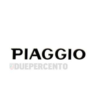 """Targhetta """"PIAGGIO"""", adesivo, 78x15 mm, per nasello per Vespa PX '98/MY"""