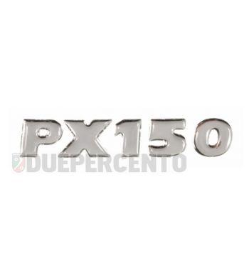 """Targhetta """"PX150"""", adesiva, per cofano Vespa PX150 E '98/ Millenium"""