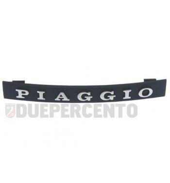 """Targhetta """"PIAGGIO"""" per nasello Vespa PX125-200/ PE/ Lusso/ T5"""