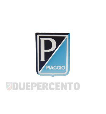 """Stemma quadro """"PIAGGIO"""", 38x48 mm adesivo resinato per Vespa 125 GT/ Sprint/ Super/ 150 VBA/ VBB/ GL/ GS VS5/ Sprint/ 160 GS/ 180SS"""