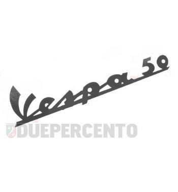 """Targhetta """"Vespa 50"""" adesiva per scudo anteriore Vespa 50 N, V5A1T"""