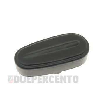Coperchio mozzo in alluminio nero per Vespa 50/ 50 Special/ ET3/ Primavera/ PK