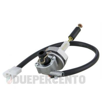 Rubinetto benzina maggiorato OMG con spia riserva per Vespa 50/ET3/PV/PX125-200/Sprint/GL/150GS/160GS/Rally