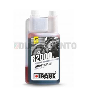 Olio miscela 2 tempi IPONE R2000 RS, base sintetica, 1000ml