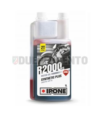 Olio miscela 2 tempi IPONE R2000 RS, alla fragola, base sintetica, 1000ml