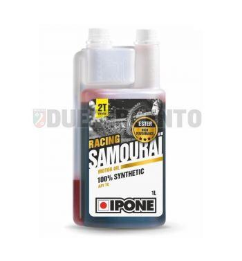 Olio miscela 2 tempi IPONE SAMOURAI RACING sintetico 2T, 1000ml
