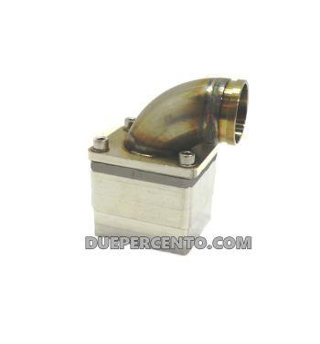 Collettore aspirazione lamellare MRP 38mm, per carter LML - Vespa PX125-200/ P200E/ GT/ Sprint/ TS/ Rally180-200/ T5/ Cosa