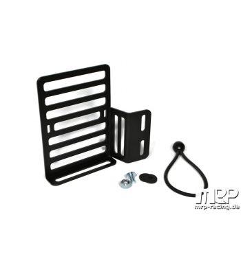 Porta flaconi - tanica MRP per retro scudo Vespa 50/ 50special/ Primavera/ GT/ GL/ Sprint/ VBA - sinistro