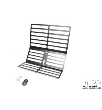 Portapacchi MRP nero per Vespa 50/ 50 Special/ Primavera/ Sprint/ VNB/ VNA/ VBB
