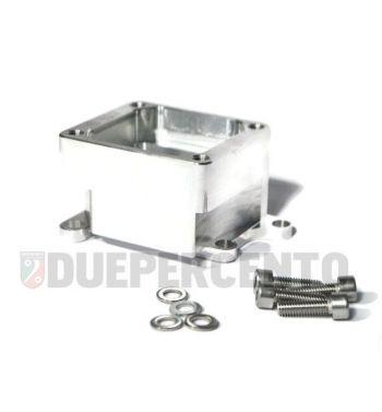 Porta pacco MRP per pacco RD350, per carter MALOSSI VR-One per Vespa PX125-200 / P200E / 180-200 Rally/ Cosa/ Sprint/ GTR / T5