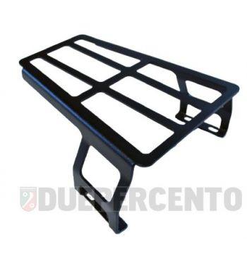 Portapacchi per pedana MRP nero per Vespa 125 VNB/ GT/GTR/Super/TS/VBA/VBB//GL/Sprint/V/Super/160 GS/180 SS/Rally