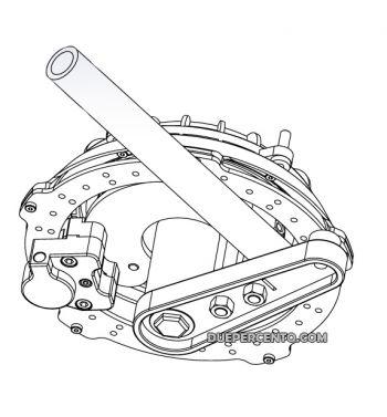 Kit freno a disco anteriore CRIMAZ per Vespa 180-200 Rally/ Sprint/ 125 GT/ GTR / TS