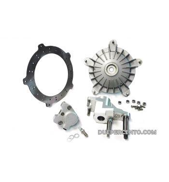 Kit freno a disco anteriore CRIMAZ P&P 2.0 RDP - pinza grigia - per vespa 50/ 50 special/ ET3/ Primavera/ PK