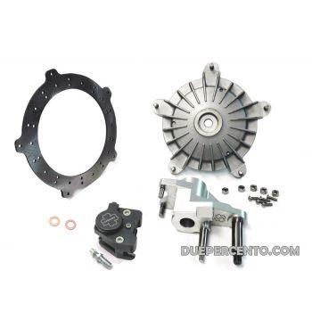 Kit freno a disco anteriore CRIMAZ P&P 2.0 RDP - pinza nera - per vespa 50/ 50 special/ ET3/ Primavera/ PK