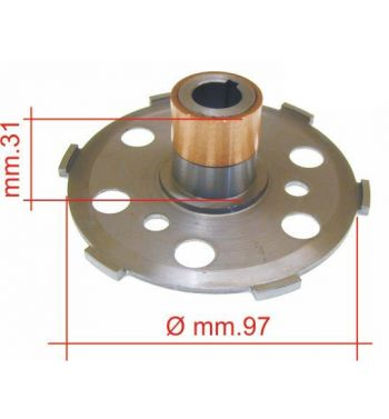 Boccolo per frizioni 6 molle ø 97mm, h 31mm per Vespa PX125-150/ Arcobaleno/ Lusso