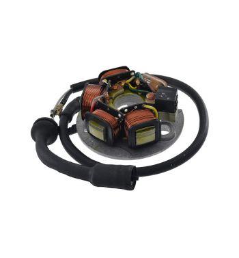 Statore 8 cavi, 5 bobine per Vespa PK50-125/ S/ SS/ ETS con E-start