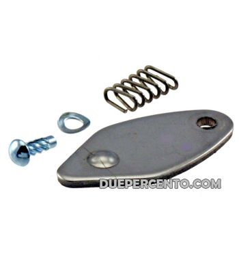 Kit coperchio bloccasterzo Vespa 50/ 50 Special/ ET3/ Primavera/ Rally180-200/ GTR/ TS/ Sprint/ VBB/ VNB/ 160GS/ 180SS