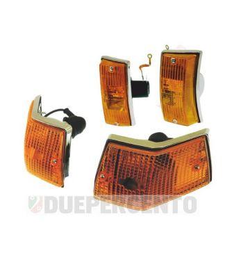 Kit frecce complete SIEM anteriori e posteriori per Vespa PX125-200/ P200E/ MY/ T5