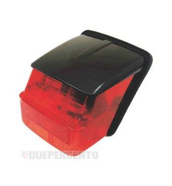 Fanale posteriore SIEM tettuccio nero per Vespa  Rally180-200/ GTR/ TS/ Sprint