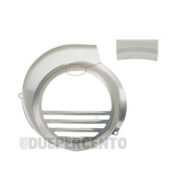 Coprivolano verniciato di grigio alluminio per Vespa PX125-200/PE/Lusso /`98/MY/`11/Cosa con starter elettrico