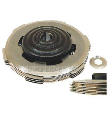 Frizione monomolla CIF, 3 dischi in sughero. 2 infradischi, 1 molla per Vespa 50/ 50 Special/ ET3/ Primavera/ PK50-125
