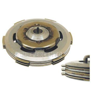 Frizione CIF, 3 dischi sughero, 2 infradischi, 6 molle per Vespa PK50/ S/ SS/ XL/ XL2/ FL/ HP/ N/ Rush/Ape