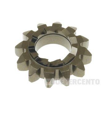 Ingranaggio avviamento 12/10 denti, Ø 20,5mm, per Vespa 50/ 50 Special/ ET3/ Primavera/ PK50-125