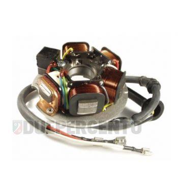 Statore PIAGGIO 3 cavi, 1 connettore, 5 bobine con avviamento elettrico per Vespa PK50-125 S/ SS/ ETS/ APE FL/ FL2 50/ FL3