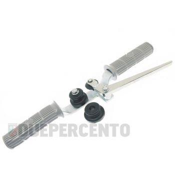 Attrezzo per montare il bordoscudo in alluminio per Vespa 50/ 50 special/ ET3/ PX125-200/ P200E/ Rally 180-200/ T5/ GTR/ TS/ Sprint