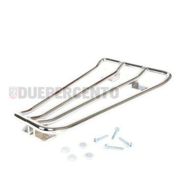Portapacchi per pedana MOTO NOSTRA cromato per Vespa PX125-200/ Lusso/ '98/ MY/ T5