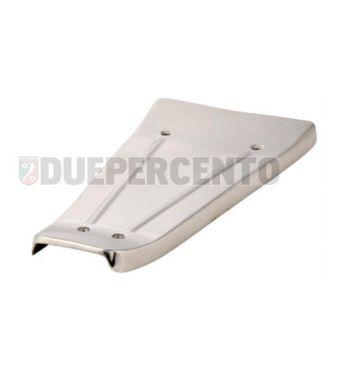 Tappetino pedana acciaio inossidabile lucidato per Vespa PX125-200E/ Lusso/ '98/ MY