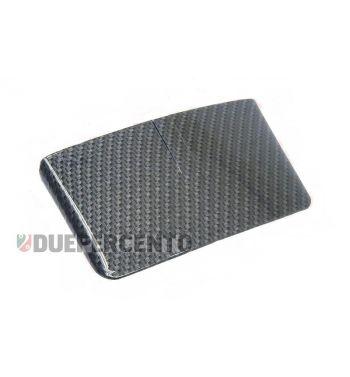 Tettuccio carbon look per faro posteriore vespa 50 special/elestart