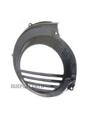 Coprivolano carbon look per Vespa PX125-200/ PE200/ TS/ Sprint/ Rally/ GTR