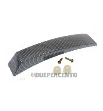 Cresta parafango Vespa PX125-200/ P200E/ ARCOBALENO/ MY - Alluminio carbon look