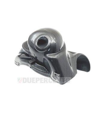 Cuffia cilindro carbon look CARBONE per Vespa 50 N/ L/ R/ S/ 50 Special/ PK50/ XL/ F/ N/ Rush