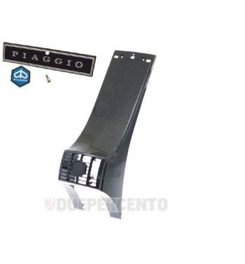 Nasello carbon look CARBONE per Vespa  PX125-200 E '98/ Arcobaleno