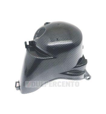 Cuffia cilindro carbon look CARBONE per Vespa PX125-150/ Sprint / GT / GTR / TS/ VNB/ VBA