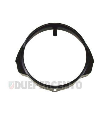 Cornice fanale nera per Vespa PX125-200 / P200E