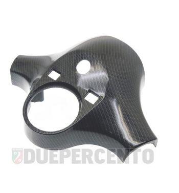 Coperchio manubrio 3 fori carbon look Vespa PX125-200/ P200E /Lusso 1°/P150S/P200E