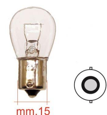 Lampadina 12V 21W per frecce Vespa PX125-200 / P200E / Cosa/ T5/ PK50-125